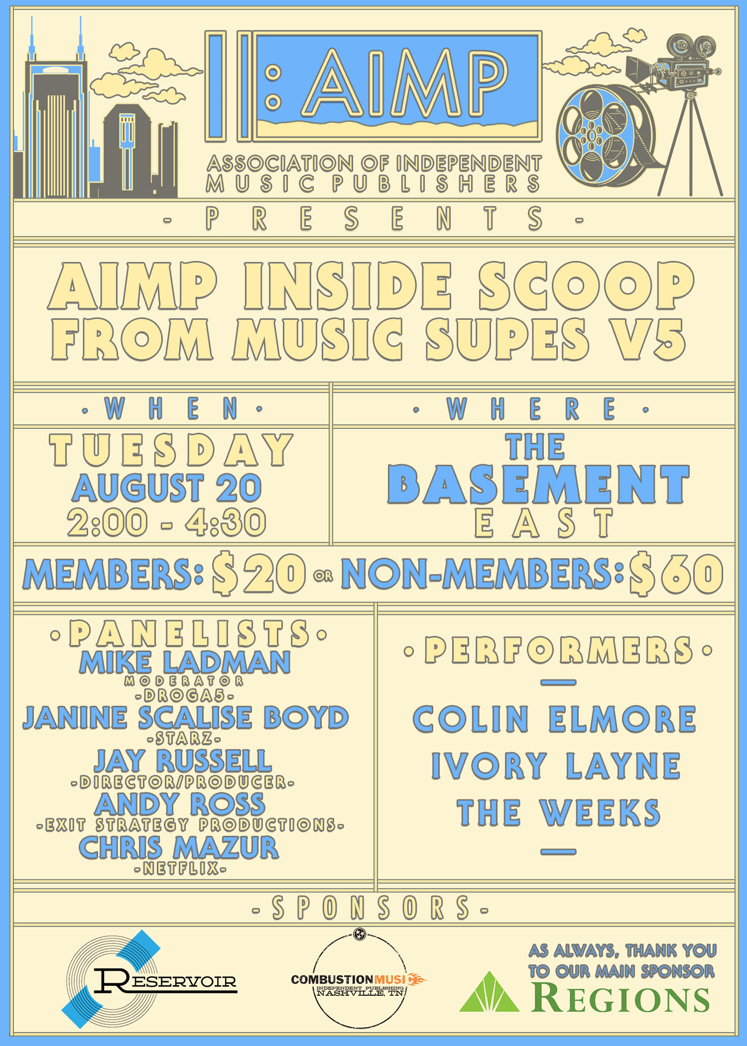 AIMP : Events - AIMP's Inside Scoop From Music Supes, V5