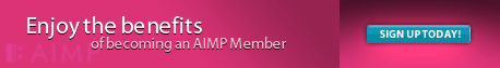Enjoy the Benefits of Becoming an AIMP Member - Sign Up Today!